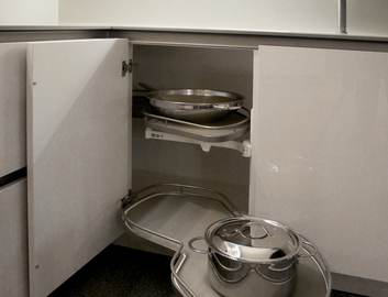 Een zorgvuldig ingerichte kookwerkplaats